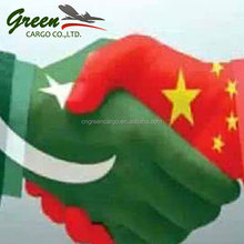 Shipping rates from china to pakistan including tax door to door delivery service via UBX line