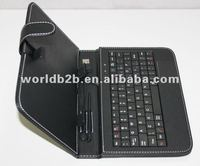 Universal keyboard leather case for 10 inch Tablets PC