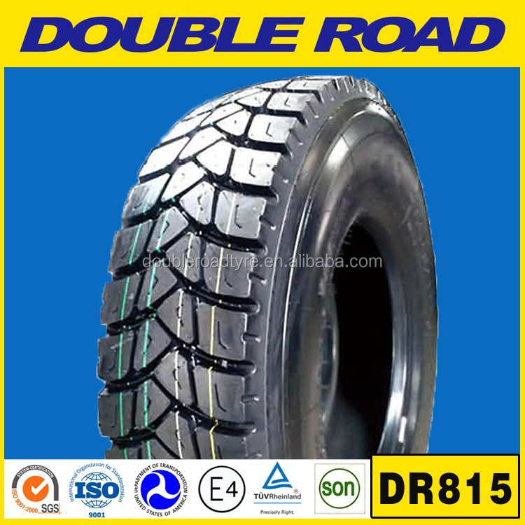 Double Road 315 / 80 r 22.5 315/80r22.5 off road truck tyre