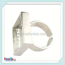 beadsnice Beadsnice ID 25052 Ring size:8 lead-safe wholesale stretch base latest gold ring designs