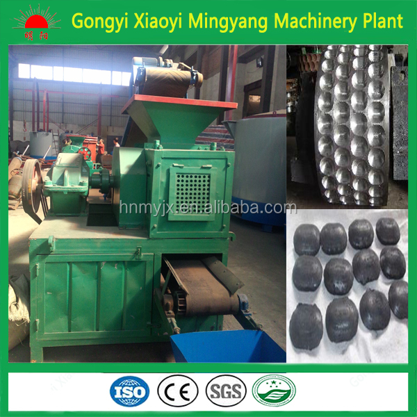 Widely in BBQ boiler market round coal briquette machine/egg shape charcoal powder ball pressed plant machinery+8613838391770