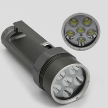 New LED Professional Diving Flashlight 5000 Lumens CREE XM-L2 Underwater 150M Waterproof Tactical Flashlight Lamp