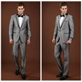 dark gray coat pant suits for men