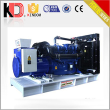 PM Motor Brushless Self-excitation 400kw 500kva Synchronous Open Type Diesel Generator with PERKINS Engine