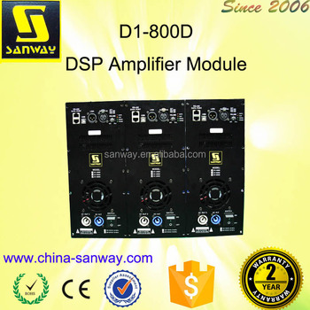 D1-800D Class-d DSP Powered Module for Speaker