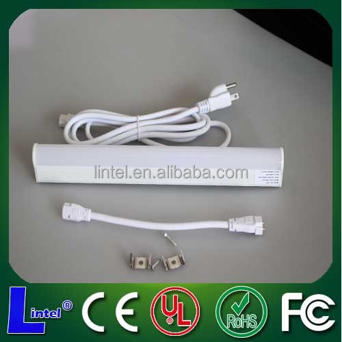 120V led fixture with led lamp no fluorescent bulb