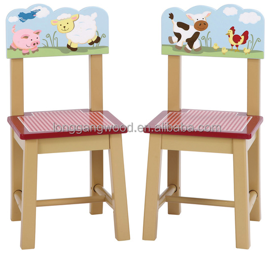 Modern new design high quality best price wooden wholesale kids chairs/children furniture /kids wooden bench desk/chair