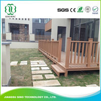 Newest Design High Quality Wpc Decorative Decking Fence Railings