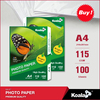 115g glossy inkjet paper ,a4 photo paper