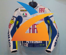Rossi Yamaha Team Racing Leather Jacket All Size in Stock and available