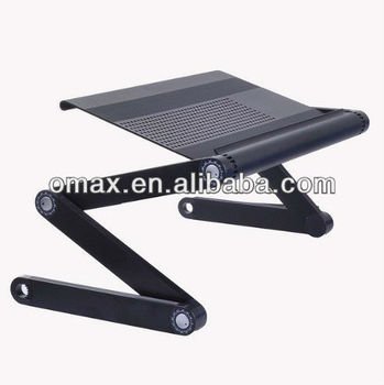 Patent folding laptop desk for ipad used in bed