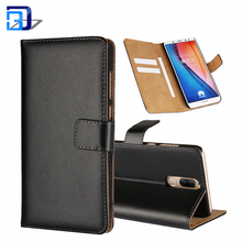 Colourful Genuine Leather Wallet Flip Case Card Slots Magnetic Closure Stand Protective Phone Case Cover For Huawei Mate 10 Lite