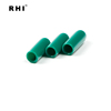 Green color round pvc end cap for fence and furniture legs 15mm
