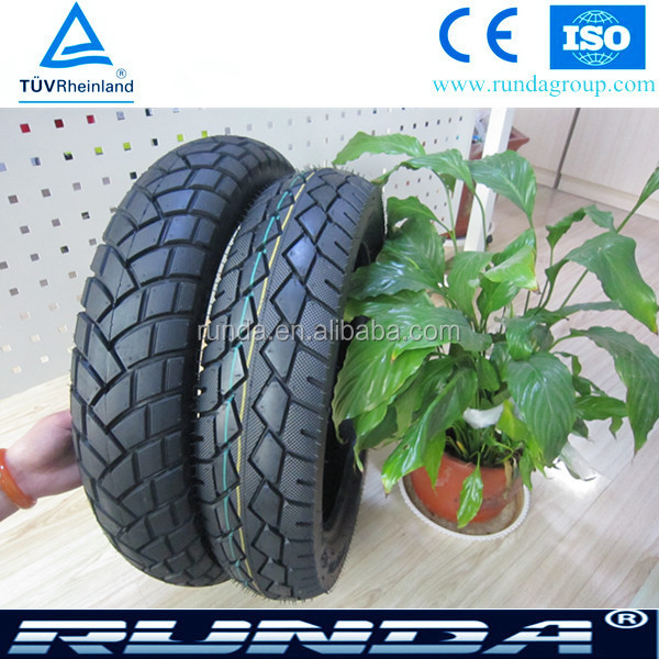 2015 new pattern tyre casing chinese motorcycle tires airless tires for sale