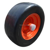 15x650-8 Flat Free Lawn Mower Tire for Zero Turn Mowers- Reliance Flat Proof Tire for KUBOTA Mowers