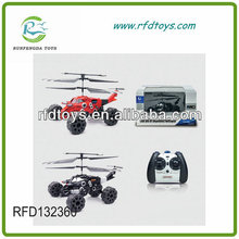 Toys 2014 New Arriving! 777-326 3ch Stunt Toy Helicopter 2 in 1 RC Helicopter RC Truck Helicopter Wholesale Toys