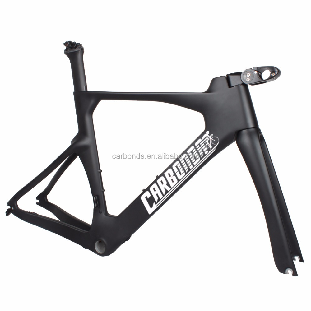 UCI standard full carbon fiber time trial frame cost-effective triathlon bike TT frame