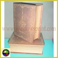 Wooden looking Book shape box,book shape gift box