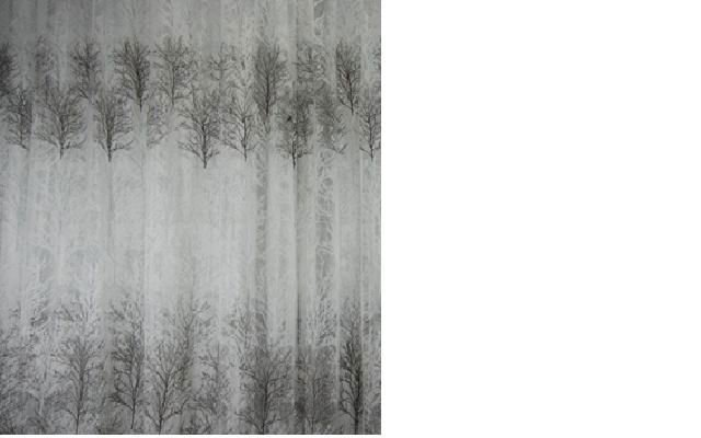 ETCHED-OUT FABRIC curtain fabric
