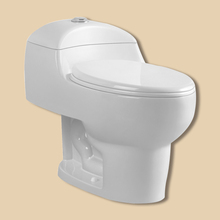 Attractive Gravity Flushing One-Piece S-Trap Toilet