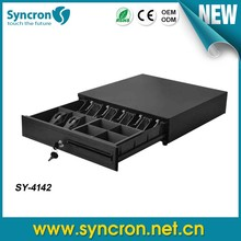 Wholesale SY-4142 terminal pos cash drawer for cashier register machine