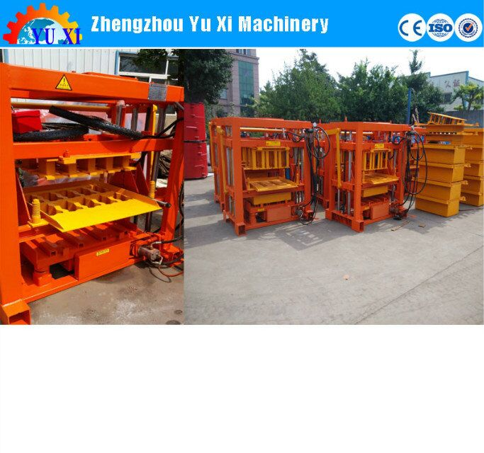 Machine for small business QTJ4-40 hollow block making machine philippines