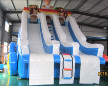 giant commercial inflatable water slide games for sale