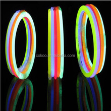Glow Sticks Bracelets Neon Colors Party Favors DIY Bracelet Light up Toys Prom Supplies Bar Club Holiday Disco Decorations