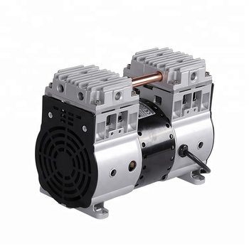 L 203*W 112 mm Installation Dimension Oil Free Piston Vacuum Pump