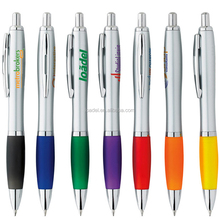 Cheap customized logo plastic promotional pen