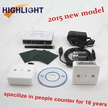 Garment shop infrared people flowing counting/ digital electric counter/people counting system
