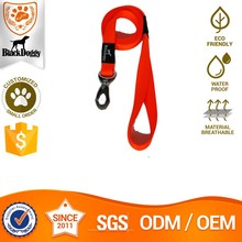 Fluorescent Reflective Nylon Pet Dog Leash With Metal Hook For Waliking Wholesale