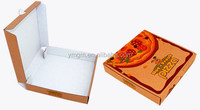 Custom printed kraft paper pizza delivery box wholesale