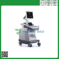 Anatomical M mode trapezoid imaging HD 4D YSB-C360 Trolley color Doppler system