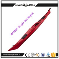 CE approved sit in kayak boat