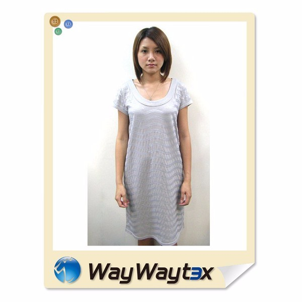 Vietnam supplier viscose beads knitted ladies dinner dating dresses