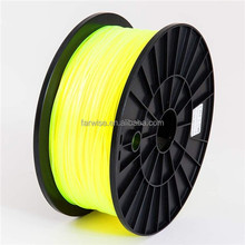 Yellow 3mm ABS PLA Plastic Filament for 3D Printing Wholesale