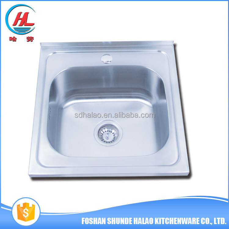 Modern design high quality stainless steel kitchen sink for hotel