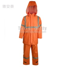 safety suit waterproof/arc flash rain suit/high visibility clothing