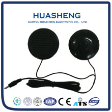 3 inch 1w round and black wire passive toy mini speaker