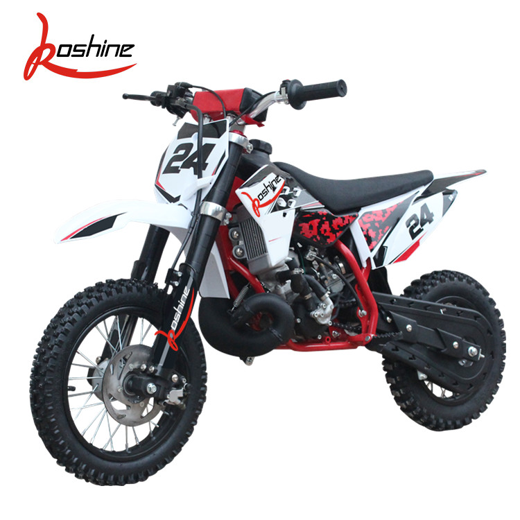Good Quality Exporting Newly Assembled Kids Mini Gas Motorcycles Dirt Bike 50CC