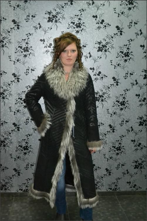 Women Fur Coat-VWF010