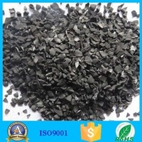 water treatment filter media coconut shell charcoal for sale