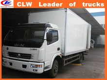 Made- in-china cargo van truck 4*2 cargo truck body van for sale