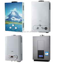 2017 New model gas water heater 6L to 10L 12L 24L 32L gas hot water boiler