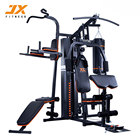 JUNXIA 2018 Hot Sale 3 Station Home Gym Indoor Body Building Fitness Equipment