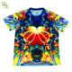 custom design sublimation t-shirt 100% polyester