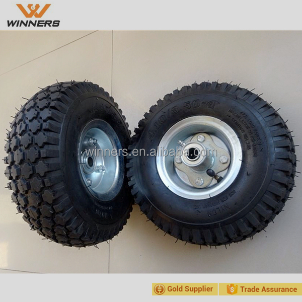 4.10/3.50-4 tubeless type pneumatic rubber wheel