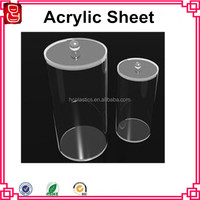 transparent colored acrylic sheet acrylic box for package