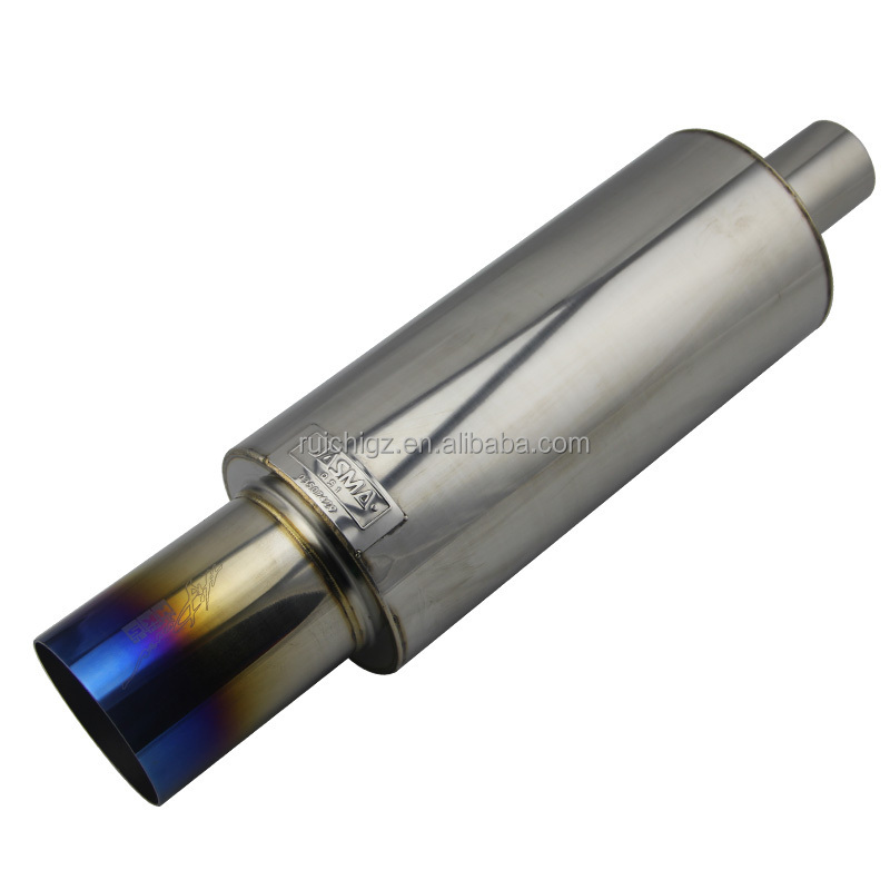 HI TITANIUM TI POWER UNIVERSAL EXHAUST MUFFLER FOR HKS